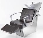 Мойка парикмахерская SESTO SENSO PRO SHIATSU-CONTOUR aluminium