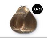 OLLIN COLOR 10/31 светлый блондин золотисто-пепельный 100 мл
