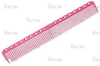 Расческа для стрижки 18,9 см розовая