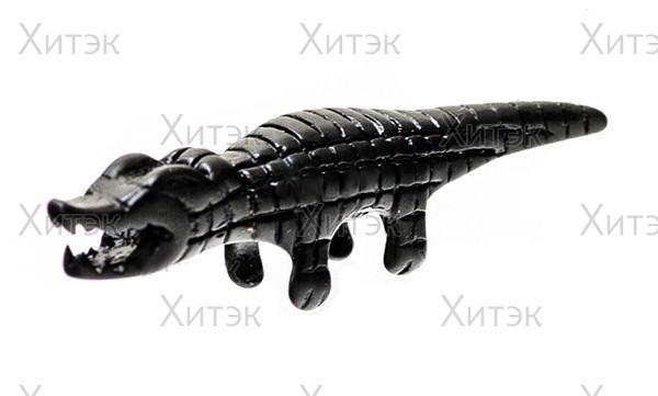 """Брелок на ножницы """"чёрный крокодил"""""""