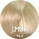 J.Maki 10.2 Жечужный светлый блондин 60 мл