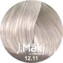 J.Maki 12.11 Суперблонд интенсивный пепельный 60 мл