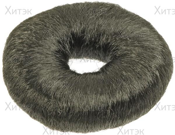 Кольцо чёрное для вечерних причёсок (хлопок)