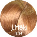 J.Maki 9.34 Золотисто-медный блондин 60 мл