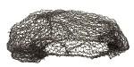 Сеточка COTON для волос коричневая со средними ячейками