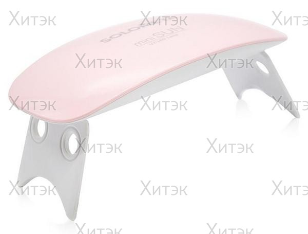 UV/ LED-лампа Mini Sun, 6 Вт, розовая