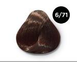 OLLIN COLOR 6/71 темно-русый коричнево-пепельный 100 мл