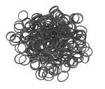 Резинки эластичные черные