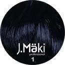 J.Maki Стойкий краситель для волос 1 Черный 60 мл