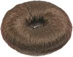 Кольцо тёмно-коричневое для вечерних причёсок (хлопок)