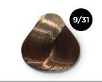 OLLIN COLOR 9/31 блондин золотисто-пепельный 100 мл