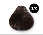 OLLIN COLOR 3/0 темный шатен 100 мл Перманентная крем-краска