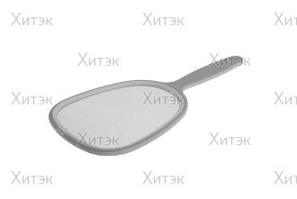 Зеркало косметическое с ручкой 10х23 см