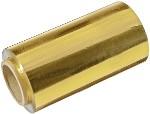 Фольга 12 см для мелирования желтая, 100 м в рулоне