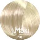 J.Maki Стойкий краситель для волос 10 Светлый блондин 60 мл