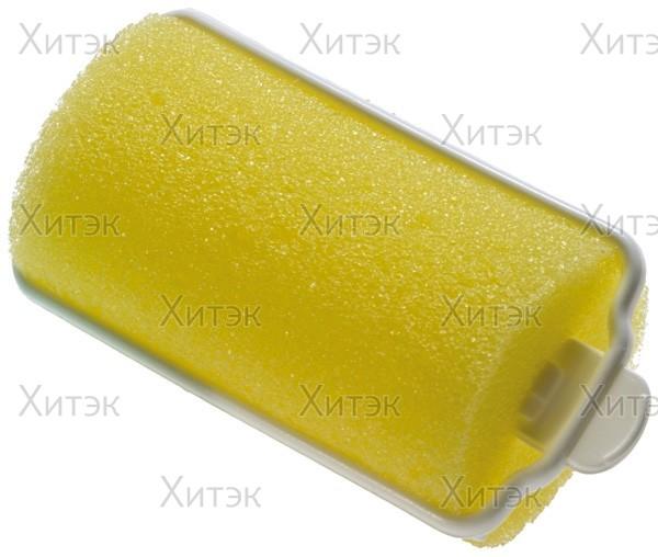 Бигуди 20 мм ночные жёлтые