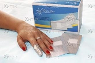Фольга с подушечками (спонжами) для ногтей «White Line»