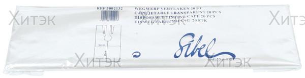 Фартук 74*98 см одноразовый, 20 штук в упаковке